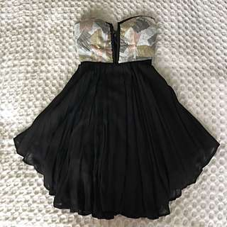Black/ Sequin - Angel Biba - Dress