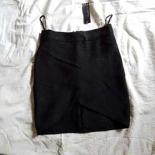 Black Bandage Skirt (BNWT)