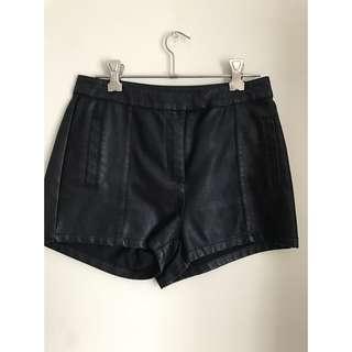 BARDOT Leather Shorts