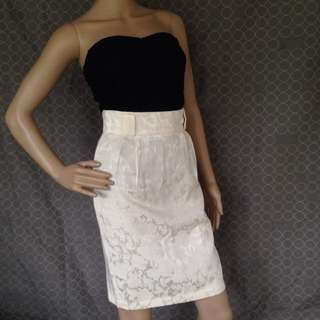 Dolly Dolly White Skirt