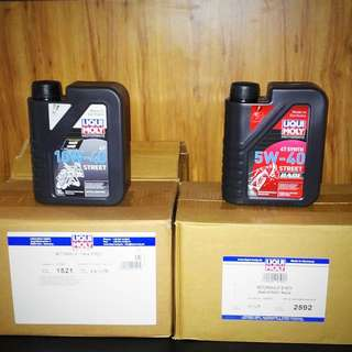 Liqui Moly 4T Scooter / motorcycle Engine Oil