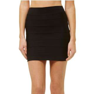 Black Kookai Skirt