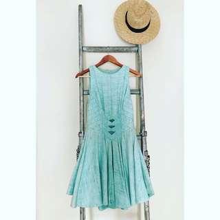 Zimmerman Turquoise Dress