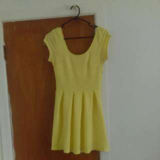 Pale Yellow Dress