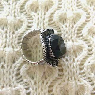 💰REPRICED💰Big Chunky Black Ring
