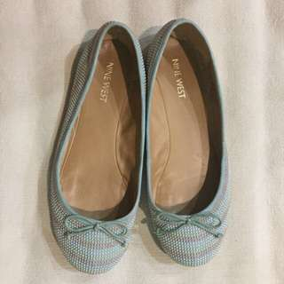 🔥REDUCED!!🔥 Nine West Tri-Colored Pastel Studded Flats