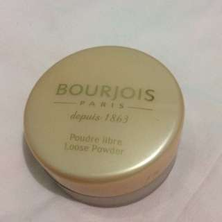 Preloved Bourjois Loose Powder 01 Peach