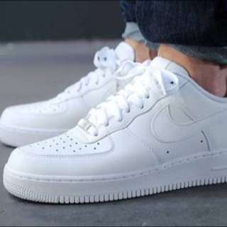 Nike Low-top AF1's Size Euro 40