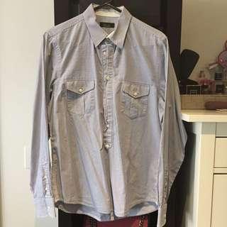 Zara Men Work Shirt Size M