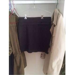 **Black Work Skirt Size M