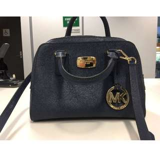 Michael Kors Saffiano Mini Satchel
