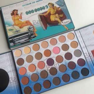 VALENTINE SPECIAL!!!THE BALM TERMIKA 3 EYESHADOW PALLETE 35 COLORS ( free postage )
