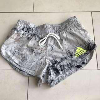 ADIDAS White Marble Shorts