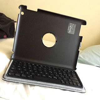 IPad 2/3/4 Leather Case With Keyboard