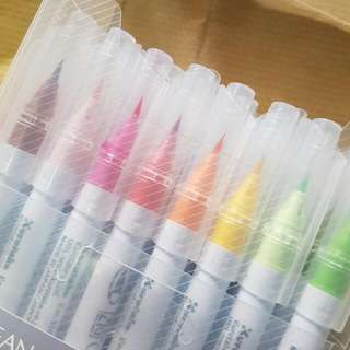 ZIG Clean & Clear Brush Pens 24's