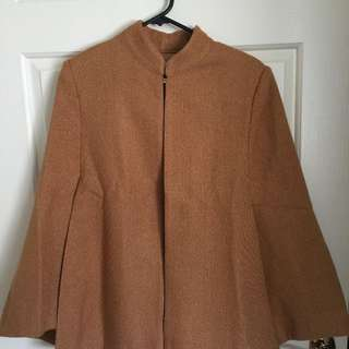 Finders Keepers camel coat