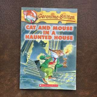 Geronimo stilton ( Cat And Mouse In The Haunted House)