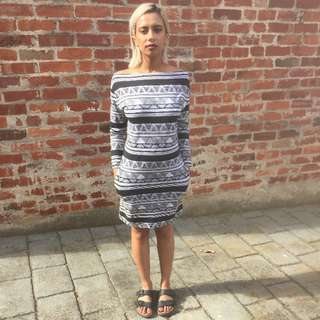 American Apparel Geometric Dress
