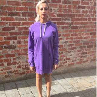 American Apparel Hooded Dress