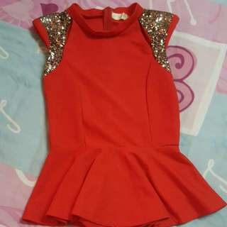 moosh peplum top