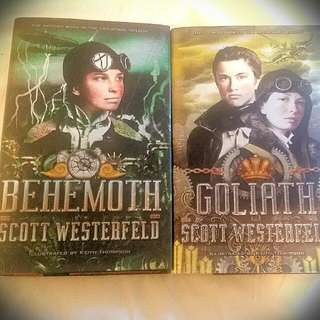 Behemoth & Goliath By Scott Westerfeld