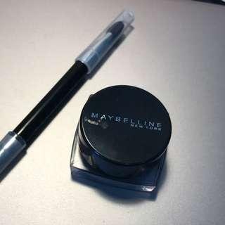 Maybelline眼線膠(附刷)黑色