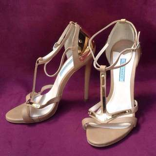 Tony Bianco Tan High Heels