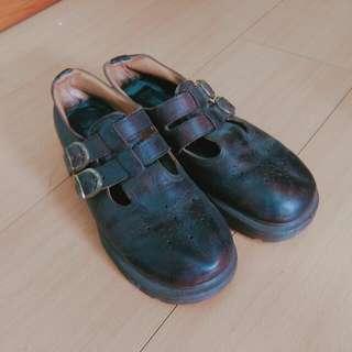 古著Dr.martens瑪莉珍mary jane鞋
