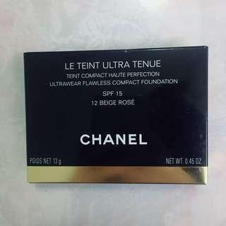 Chanel粉餅包裝紙盒(附說明書一本)