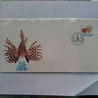 Singapore Stamp First Day Cover 1977