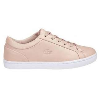 Lacoste Pink Leather