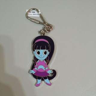 🚚 藍色女孩 鑰匙圈