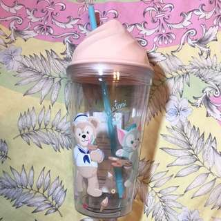 達菲熊 冰淇淋 造型杯子 迪士尼限定