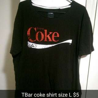 Coke Shirt Mens