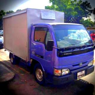 NISSAN CABSTAR 10FT BOX LORRY LONGTERM LEASING ( LONG TERM LORRY RENTAL )