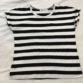 Sunny Girl Striped Shirt