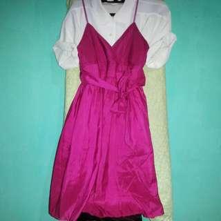 Magenta Dress