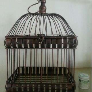 手工復古鐵制鳥籠