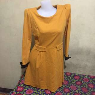 Pre-loved Yellow Dress