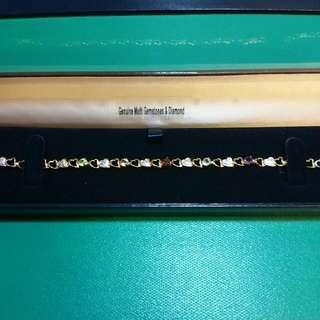 Genuine Multi Gemstone Diamond 手鍊