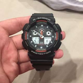 G- Shock Watch (used, unscratched and in excellent condition)