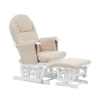 Mothercare Reclining Glider Chair - White   Rocking Chair