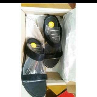 ORIGINAL Fitflop Banda Opul Black Sandals