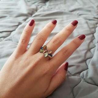 Butterfly Rubber Ring (Cincin)