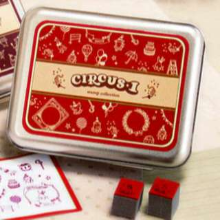 DIY Stamp Set (Circus)