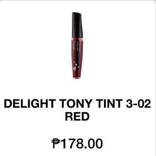 Tony Moly Delight Lip & Cheek Tint In Red