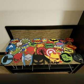 Superheros Photobooth