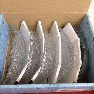 船型水晶盤