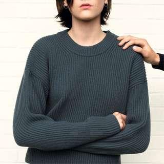 UNIQLO U系列全羊毛毛衣