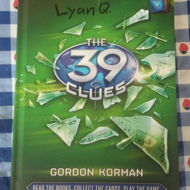 """39 Clues: One False Note"" by Gordon Norman (pre-loved but good condition)"